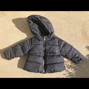 Toddler Girls puffer coat